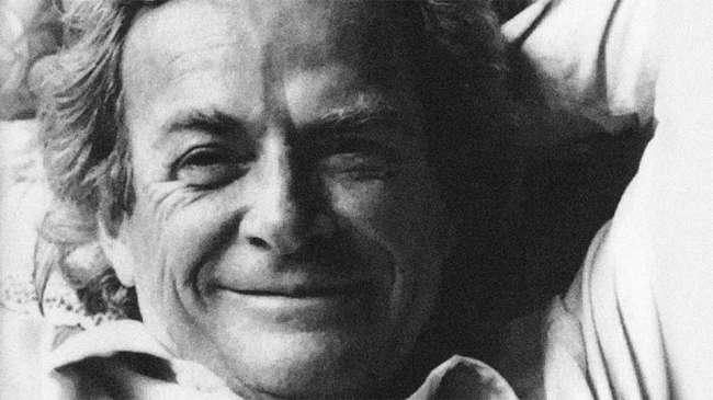 Feynman tekniğini icat eden Richard Feynman